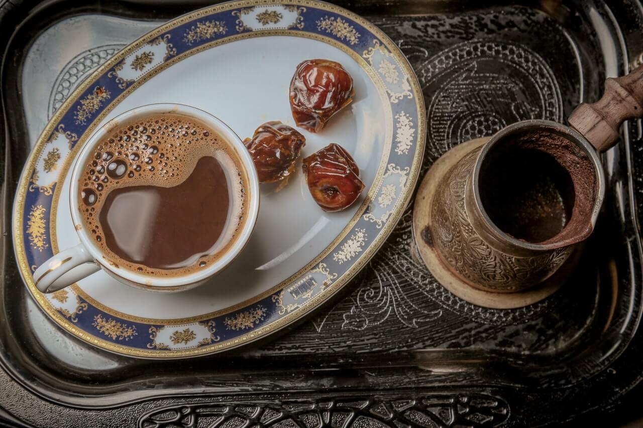 how much caffeine in Turkish coffee