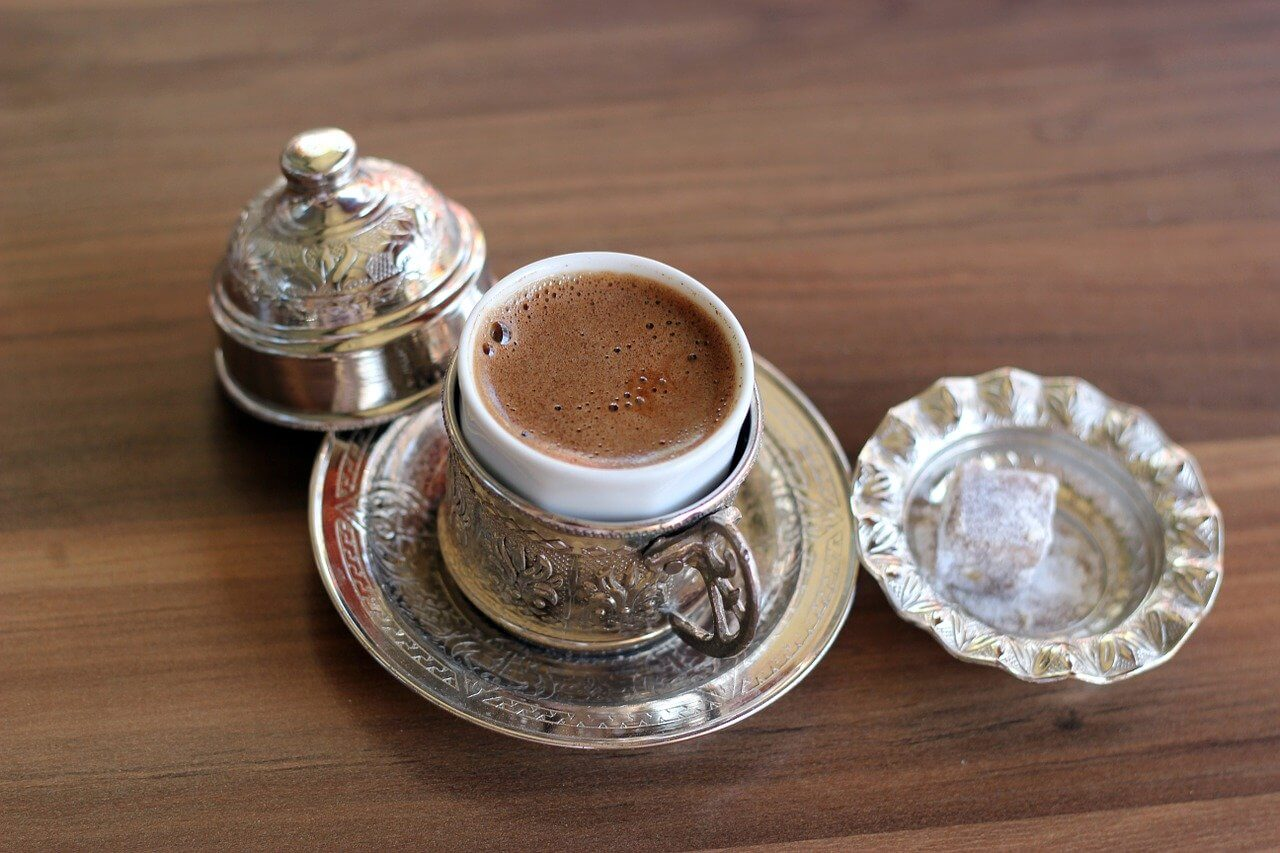 how to make Turkish coffee without an ibrik